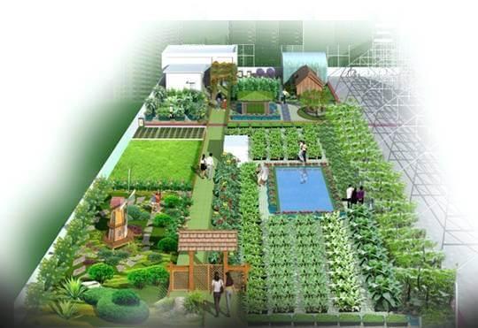亲子农业嘉年华-乡村迪士尼设计