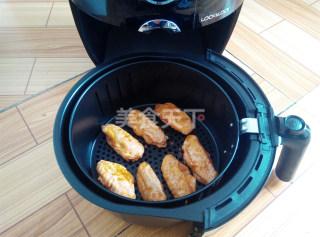 新奥尔良烤翅空气炸锅版